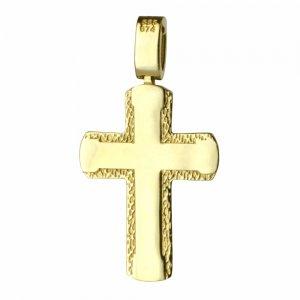 βαπτιστικός-γραμμωτός-σταυρός 14Κ