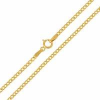 Αλυσίδα για τον λαιμό κλασική, σε σχέδιο γκουρμέ, από χρυσό 14Κ σε λουστρέ φινίρισμα. Μία εξαιρετική κλασική επιλογή για ανδρικό σταυρό ή κόσμημα.