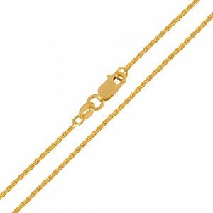 Αλυσίδα για τον λαιμό μασίφ , σε σχέδιο σπίγκα, από χρυσό 14Κ. Έχει λουστρέ φινίρισμα και πυκνή πλέξη. Μία εξαιρετική κλασική επιλογή για ανδρικό και γυναικείο κόσμημα ή σταυρό.