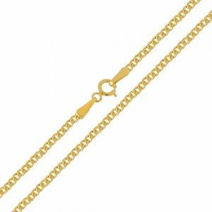 Αλυσίδα λαιμού μασίφ , σε σχέδιο γκουρμέ, από χρυσό 14Κ σε λουστρέ φινίρισμα. Μία εξαιρετική κλασική επιλογή για ανδρικό σταυρό ή κόσμημα.