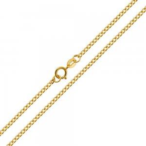 Αλυσίδα λαιμού οικονομική σε κλασικό σχέδιο γκουρμέ, από χρυσό 14Κ σε λουστρέ φινίρισμα. Μία εξαιρετική κλασική επιλογή για ανδρικό σταυρό ή κόσμημα.
