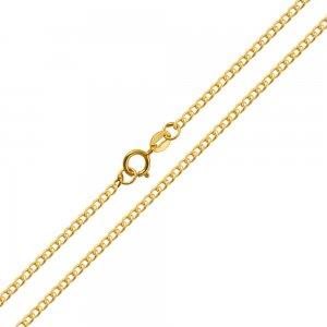Οικονομική αλυσίδα για τον λαιμό σε κλασικό σχέδιο γκουρμέ, από χρυσό 14Κ σε λουστρέ φινίρισμα. Μία εξαιρετική κλασική επιλογή για ανδρικό σταυρό ή κόσμημα.