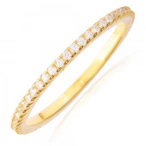 Βεράκι ασημένιο σειρέ γυναικείο. Είναι φτιαγμένο από ασήμι 925 επιχρυσωμένο και διακοσμημένο ολόκληρο με πέτρες ζιργκόν . Φορέστε ένα ή πολλά μαζί!