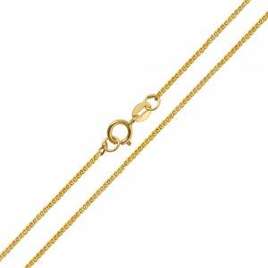 Αλυσίδα για λαιμό χρυσή 14Κ με λουστρέ φινίρισμα σε ιδιαίτερο σχέδιο σπίγκα με πυκνή πλέξη. Εντυπωσιακή και οικονομική επιλογή για ανδρικό και γυναικείο κόσμημα ή σταυρό.